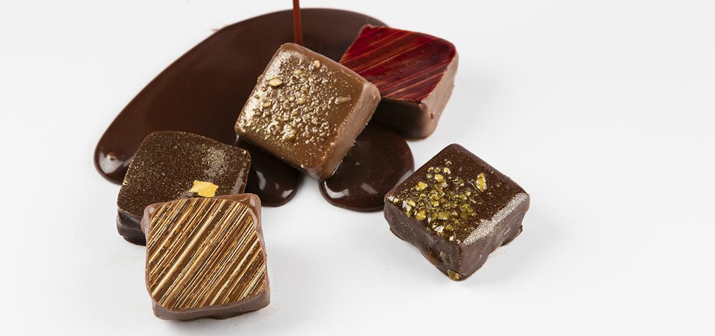 base du chocolat et de la confiserie