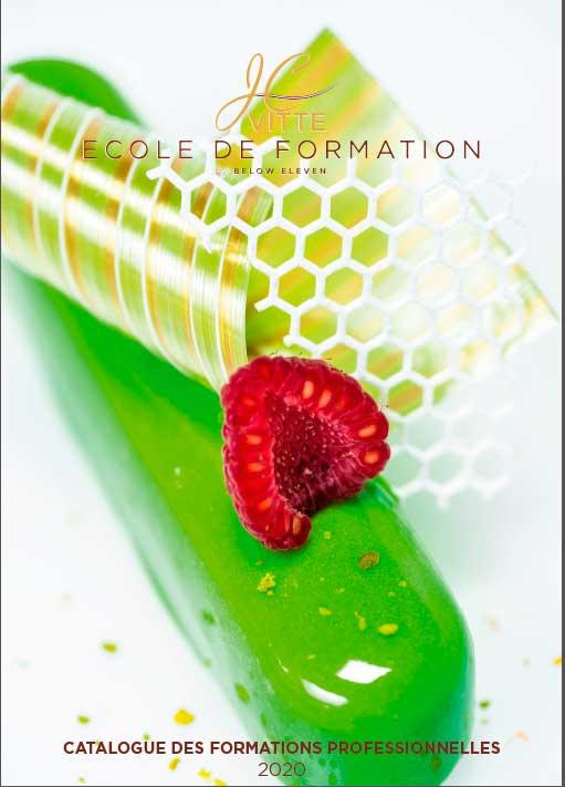 Catalogue 2020 des formations professionnelles - pâtisserie, confiserie, chocolaterie