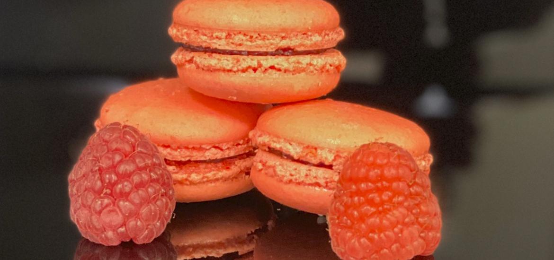 macarons-framboise